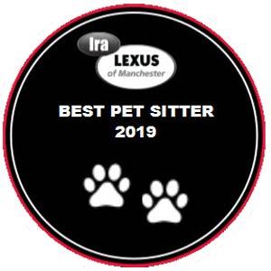 Best Pet Sitter award